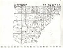 Map Image 007, Jennings County 1972